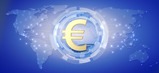 European currency Euro as a global currency