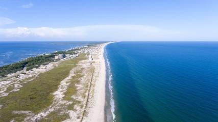 Fort Morgan Beach on the Alabama Gulf Coast