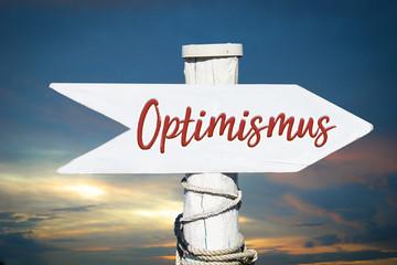 Schild 317 - Optimismus