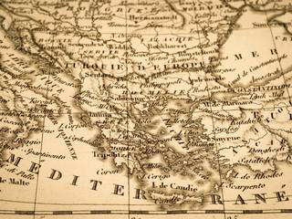 古地図 ギリシャ
