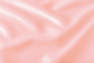 Smooth elegant shiny pink silk or satin luxury cloth texture can use as abstract holidays...