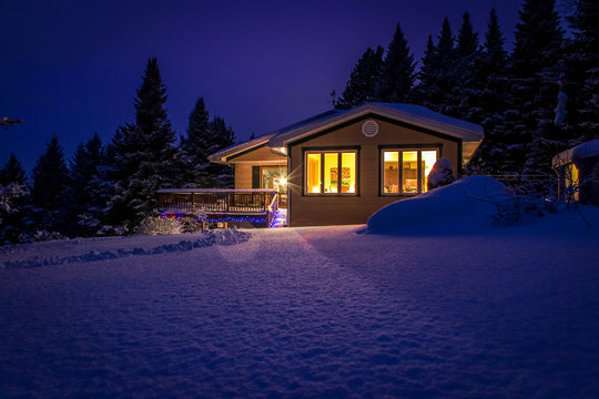 Canadian chalet
