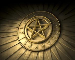 Pentagramm Runen