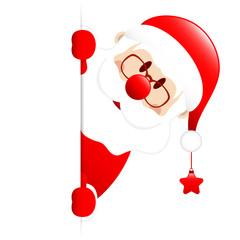 Santa Star Banner Right