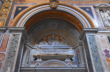 Italy, Rome, basilica of San Giovanni in Laterano, side chapel.