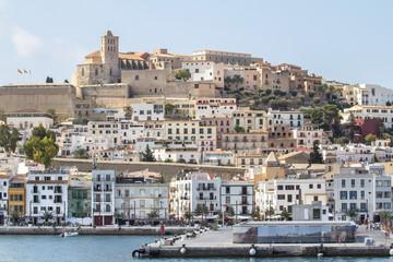 Fototapeta The fortress in Ibiza, Spain