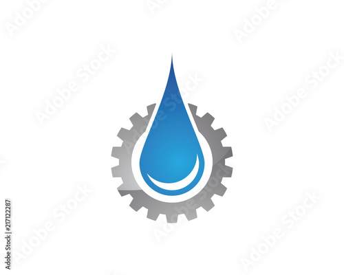 water drop logo template vector stock image and royalty free vector