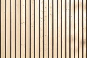 Background of wooden narrow vertical bars
