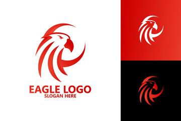Eagle Logo Template Design Vector, Emblem, Design Concept, Creative Symbol, Icon