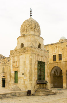 A Domed Shrine on the Temple MountaThe Some of the domed shrines on The Temple Mount in Jerusalem Israel