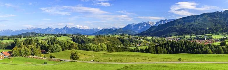 Wall Mural - Naturlandschaft im Allgäuer Alpenvorland bei Nesselwang