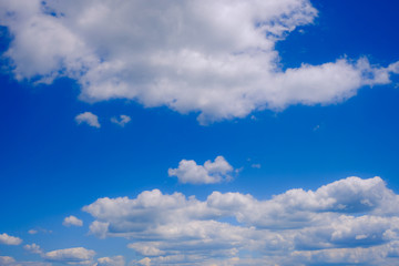 blue sky with cloud. Abstract nature background