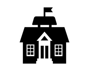 black house home housing real estate residence residential image vector