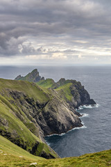 The Island of Dun from Ruival on St. Kilda