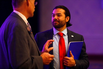 Jason Funes, Special Assistant in the Office of Intergovernmental and External Affairs with the U.S. Department of the Interior during the America First Energy Conference 2018 in New Orleans