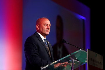 Clay Higgins during the America First Energy Conference 2018 in New Orleans