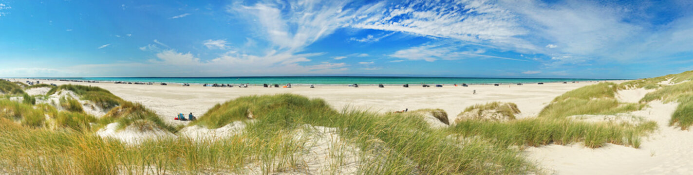 Strand - Dünen - Panorama