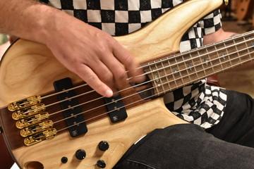 Base Guitar Player