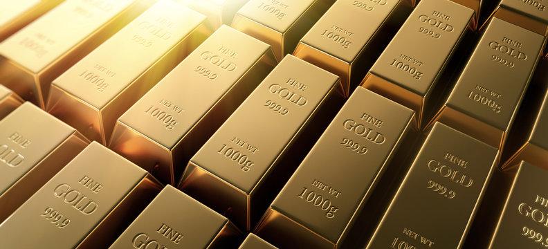 Goldbarren Querformat 2
