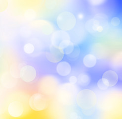 Colorful background blur