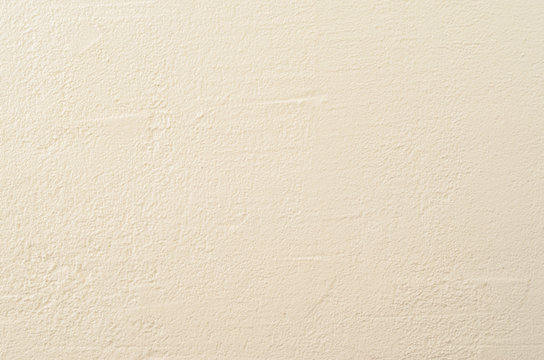 White Cement Plaster Wall Texture. Clear Blank Background