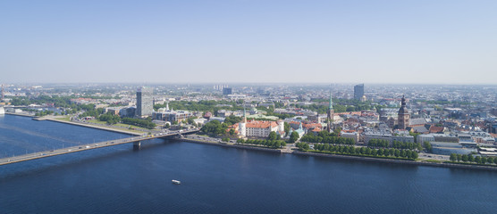 Panorama of Riga city