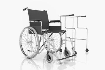 Rollstuhl - Rollator - Gehhilfe
