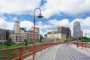 Minneapolis MN downtown view