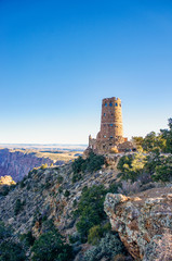 Watchtower on Grand Canyon Rim