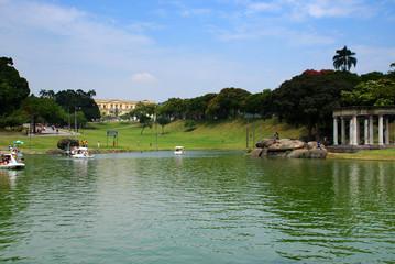 Quinta da Boa vista lake, Rio de Janeiro