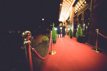 Red carpet entrance Fotomurales