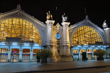 Foto op Plexiglas Treinstation Tours train station in France