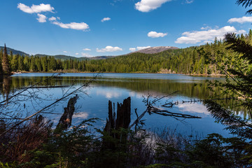 South Skookum Lake in the Colville National Forest