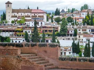Granada. Ciudad historica de Andalucia , España