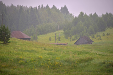 кгкфд landscape - the nature in cloudy day in the summer