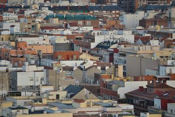 Tejados de Madrid desde el Faro de Moncloa