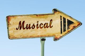 Schild 328 - Musical