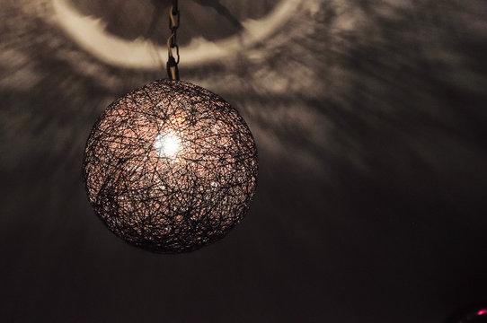 Chill lamp in the dark