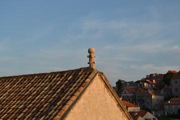 Kroatien Meer und Architektur