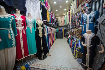 Tiendas en la Médina de Marrakech