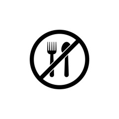 ban on food icon. Element of travel icon for mobile concept and web apps. Detailed ban on food icon can be used for web and mobile. Premium icon