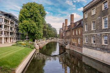 Mathematical bridge in Cambridge