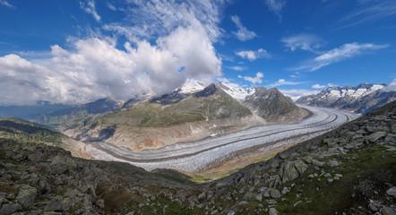 Aletsch glacier - panorama