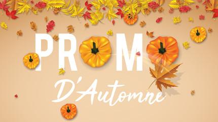 Promo D'Automne