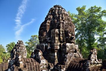 Lokeshvara vom Bayon Tempel