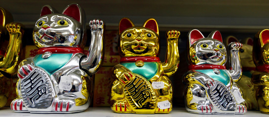 Products imported from China are displayed for sale at a wholesale shop in Paris