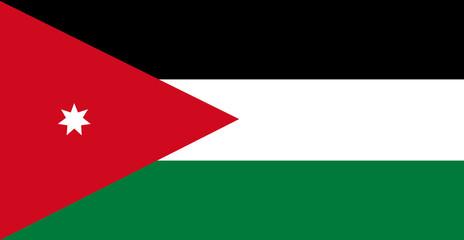 Jordan of flag
