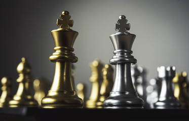 Chess board - A competitive business idea to succeed.