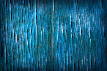 Old wood texture. Abstract background. Blue color.