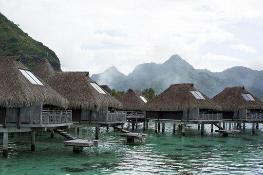Tropical bungalows